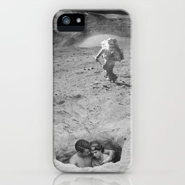 Lovers on the Moon iPhone Case