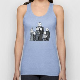 Spooky Plushie Family Unisex Tank Top