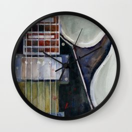 Les Paul Gibson Guitar Wall Clock