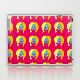 Mocca, the Fire Monster Mother Laptop & iPad Skin