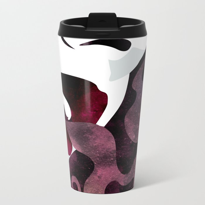 Velvet Noir Metal Travel Mug
