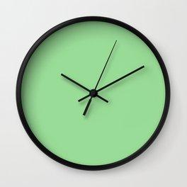 Light Jade Wall Clock