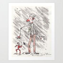 Puppeteer Art Print