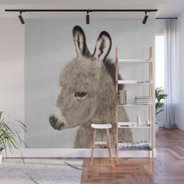 Donkey - Colorful Wall Mural