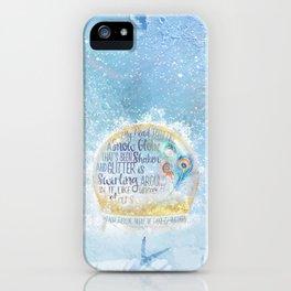 Like a Snow Globe iPhone Case