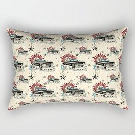 The Road So Far Vintage Rectangular Pillow