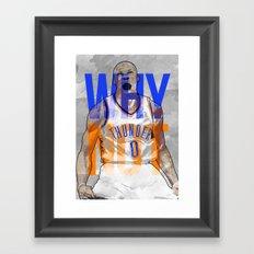 Russ! Framed Art Print