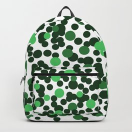 Cute green spots Backpack