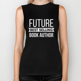 Future Best Selling Book Author Biker Tank