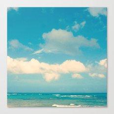 Loquillo Beach Canvas Print