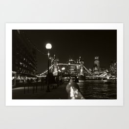 Tower Bridge from Butler's Wharf, London Art Print