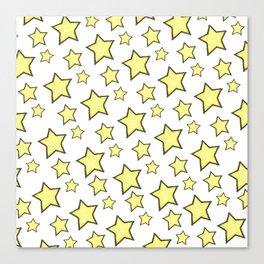 Stars pattern Canvas Print
