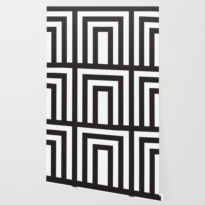 Black Stripes Wallpaper