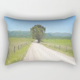 All Roads Lead to Here Rectangular Pillow
