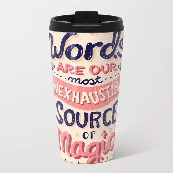 Source of Magic Metal Travel Mug