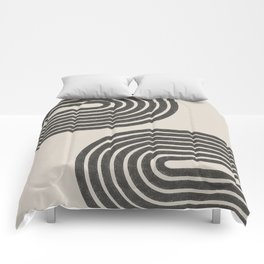 Woodblok Rainbow Art Comforters