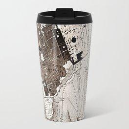 Plan of Jerusalem Travel Mug