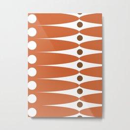 Retro geometric: Documentar el infinito Metal Print