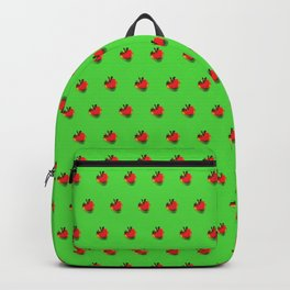 Strawberry Green - Posterized Backpack