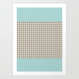 cuadrados 1 Art Print