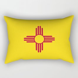 New Mexico Flag Rectangular Pillow