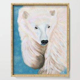 Peter the Polar Bear Serving Tray