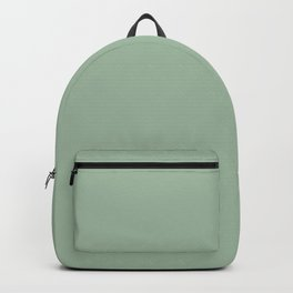 Nature's Delicacy ~ Soft Olive Green Backpack