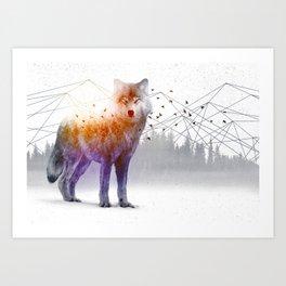 A Wilderness Within / Wolf Art Print