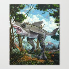 T-Shark Canvas Print