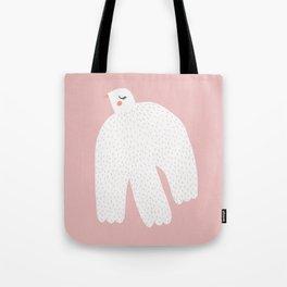 White Dove Tote Bag