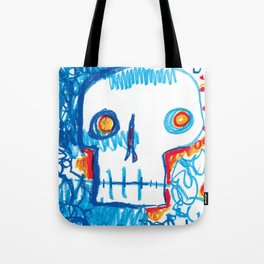 Skull of the Insomniac Tote Bag