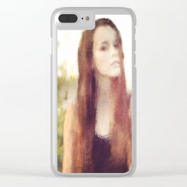Fields of Spring Clear iPhone Case