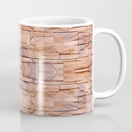 Slate tiles brown purple rock abstract Coffee Mug
