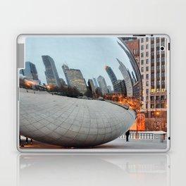 Chicago Bean - Big City Lights Laptop & iPad Skin