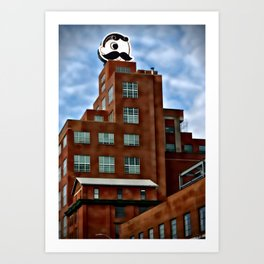 Natty Boh Tower, Baltimore, Maryland  Art Print