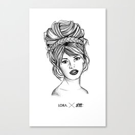 Brigitte Canvas Print