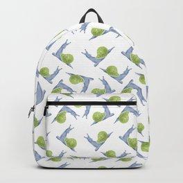 pattern-snail-green Backpack