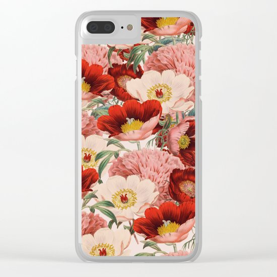 Vintage Garden #society6 Clear iPhone Case