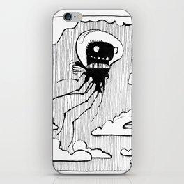 Flying squid – Seppiolina volante iPhone Skin