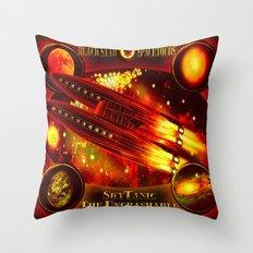SkyTanic - 126 Throw Pillow
