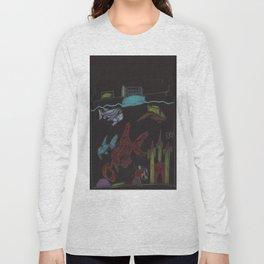 NightTime Aquarium Long Sleeve T-shirt