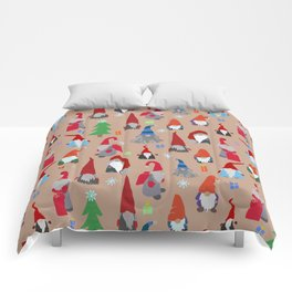 Gnomes everywhere Comforters