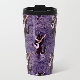 Musical Cat Travel Mug