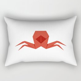Origami Crab Rectangular Pillow