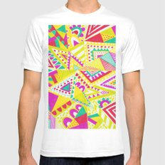 Circus Candy Gemetic MEDIUM White Mens Fitted Tee