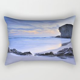 Monsul beach at sunset Rectangular Pillow