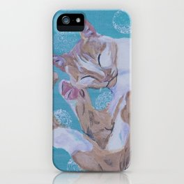 Zen Lily I iPhone Case