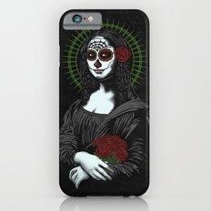 Viva La Mona Muerte Lisa iPhone 6s Slim Case
