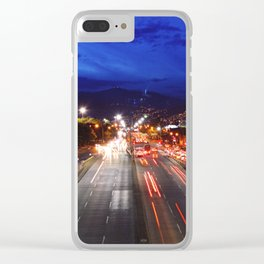 Medellin Clear iPhone Case