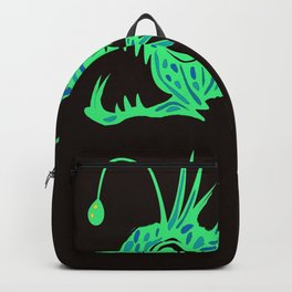 Angry Fish Sea Diving Backpack